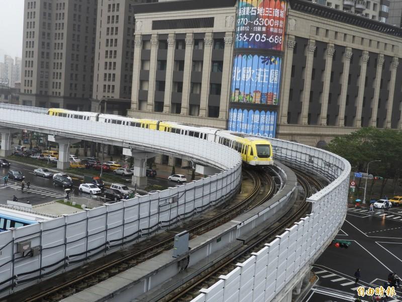 近來雙北市為了捷運新北環狀線經營權引發爭議。(記者賴筱桐攝)