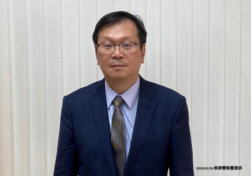 衛福部疾管署副署長莊人祥說明流感疫苗相關事件。(圖由疾管署提供)