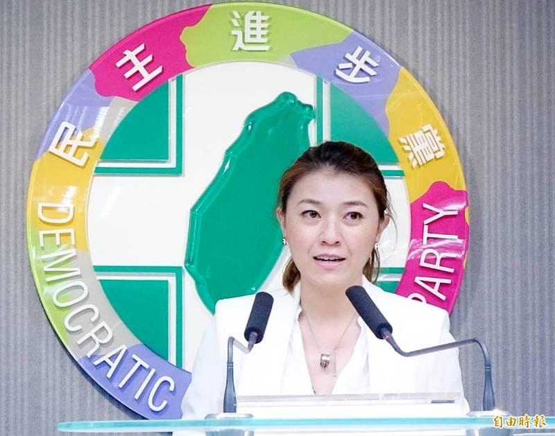 民進黨發言人顏若芳表示,民進黨及相關組織沒有所謂的「不當取得財產」,對於黨產會表示將啟動調查,民進黨必會全力配合,相信事實絕對經得起調查檢驗。(資料照)