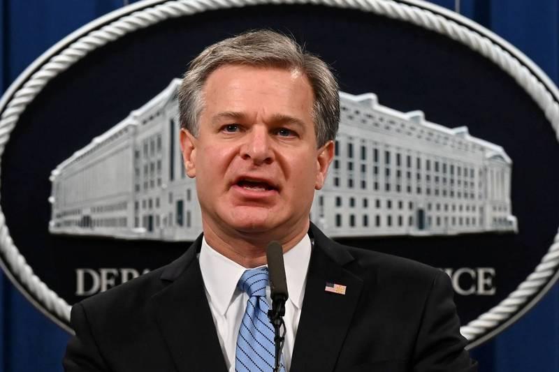 外傳FBI局長瑞伊(見圖)恐將被撤換。(路透檔案照)