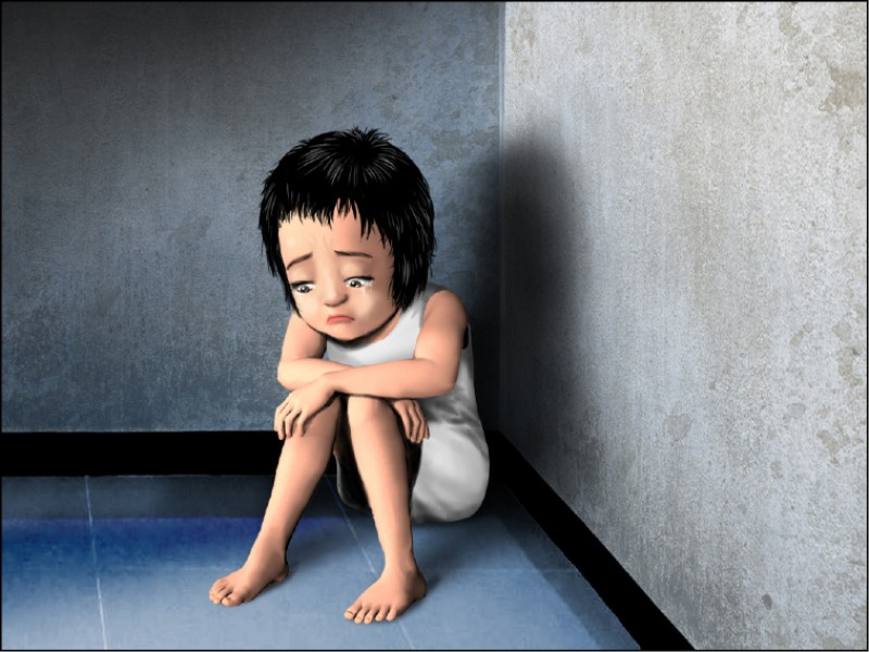 兒少施虐者有近7成比例,是被害人的父母及養父母等身邊最親近的人。 (示意圖)