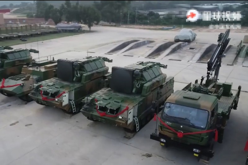 作為對台主力,東部戰區發布紅旗17防空導彈授裝接裝消息惹人關注。(影片擷圖)