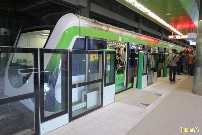 台中捷運綠線。(資料照)