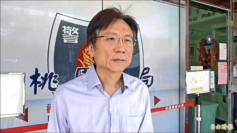 詹江村稱今天會到警局加告女粉絲恐嚇罪。(資料照,記者陳恩惠攝)