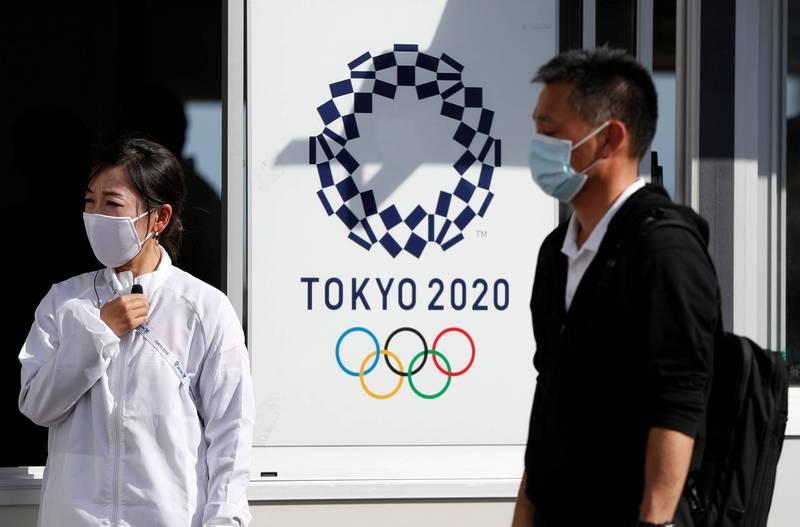日本政府確認將在奧運組織委員會中設置「感染症對策中心」。(路透)