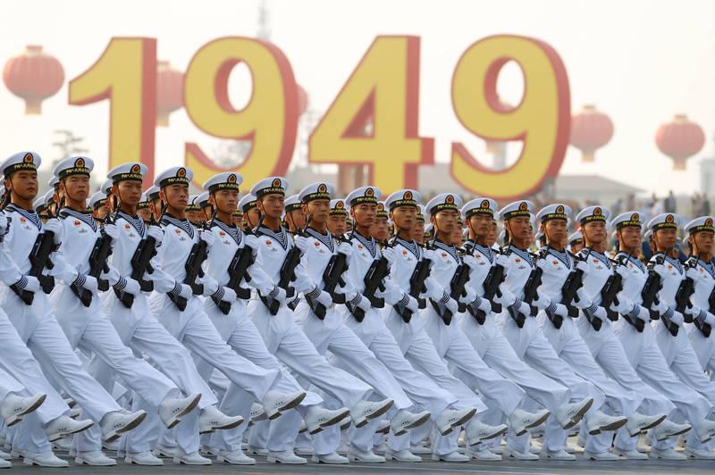 對於美國下一任總統來說,台灣將成為最重要的地緣政治問題之一,圖為中國人民解放軍。(路透)
