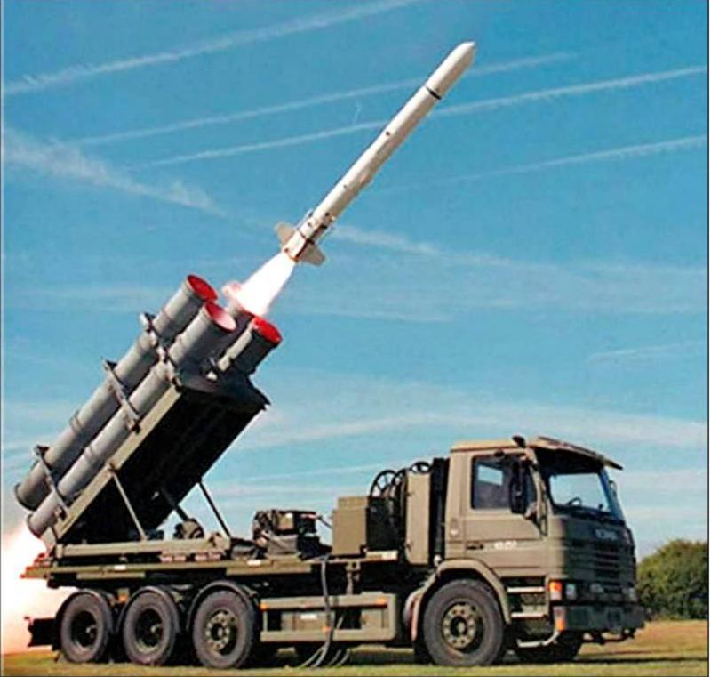 川普政府宣佈出售400枚岸置魚叉飛彈給台灣。(取自Boeing Defense推特)