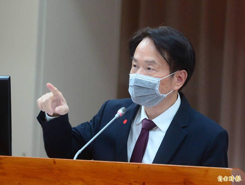 立法院財政委員會邀請國史館館長陳儀深做業務報告並被詢。(記者王藝菘攝)