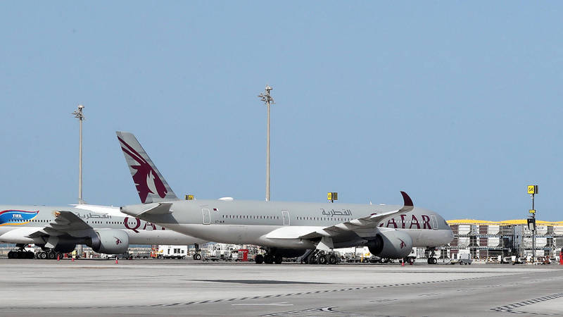 澳洲外交部長潘恩今指出,遭內診的女性乘客不單是只來自一架班機,而是有多達10架班機的女乘客被迫受檢。(法新社)