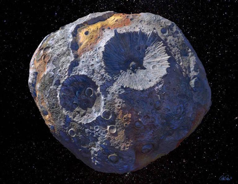 就在太陽系!最貴重金屬小行星 價值高達「1千萬兆」 - 國際 - 自由時報電子報