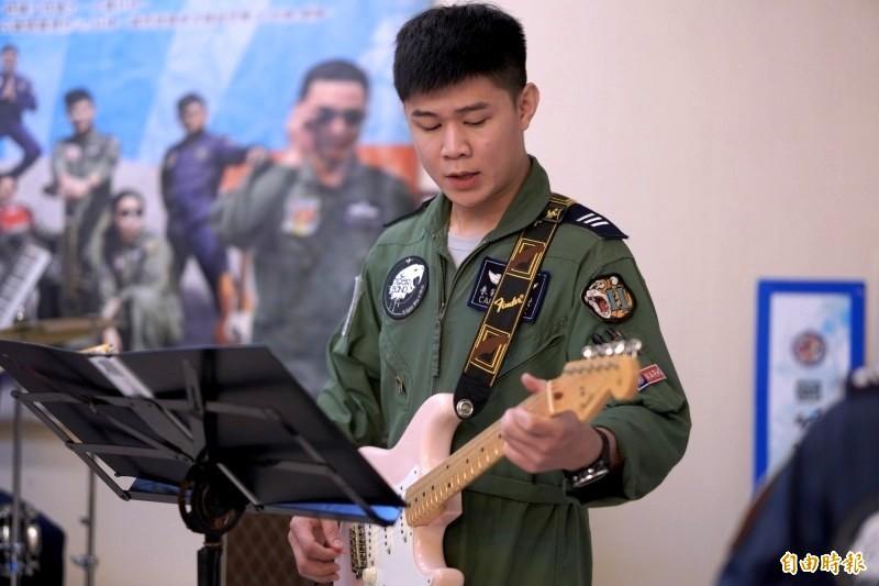F-5E戰機事故機飛官為朱冠甍上尉。(資料照,記者涂鉅旻攝)