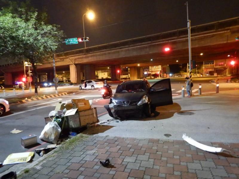 發生事故路口。(民眾提供)