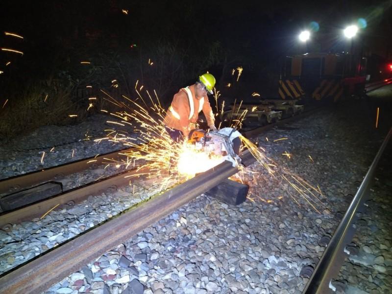 即鐵近期2起重大斷軌事件,讓民眾對行車安全有疑慮,台鐵局今天提出6大措施改善。(台鐵局提供)