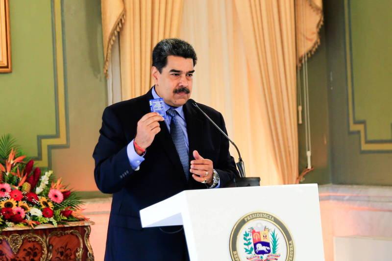 委國總統馬杜羅表示,國內最重要的煉油廠之一阿穆伊煉油廠27日遭到恐怖攻擊。(路透)