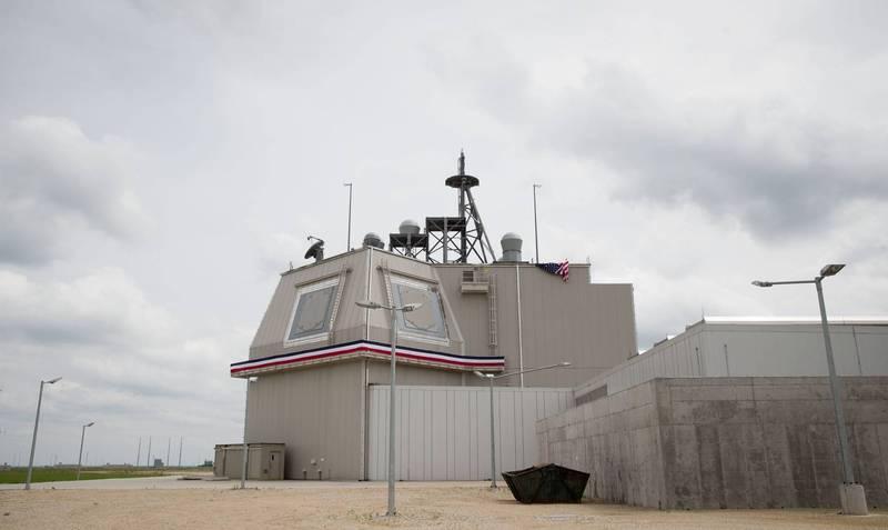 美國雷神公司表示,雷神的「SPY-6」雷達最適合日本政府所討論的「海上運用方案」。圖為美軍陸基神盾系統。(歐新社)