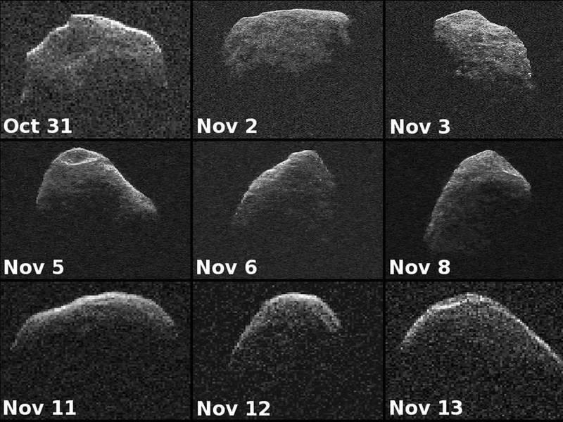 NASA於2012年公布的「Apophis」樣貌。(擷取自NASA)