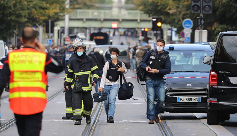 法國尼斯教堂傳持刀恐攻! 1女遭「斬首」已3死多人傷