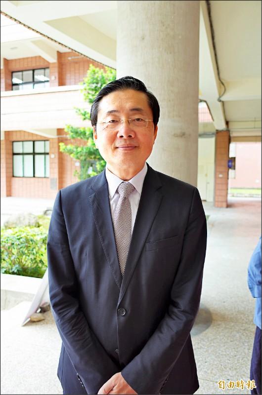 東華大學校長趙涵㨗。(記者花孟璟攝)