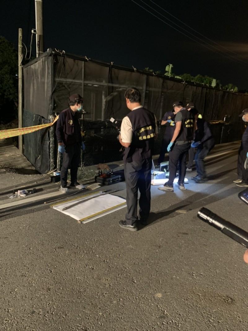 台南外籍女大生遇害,警方逮捕梁嫌。(記者吳俊鋒翻攝)