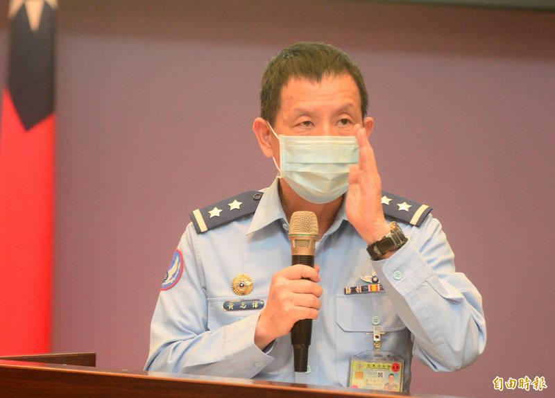 空軍參謀長黃志偉中將說,飛機老舊不必然是失事原因,F-5E經美軍評估後仍可安全使用,料件籌補也依規定沒有遇到困難,F-5仍在安全無虞情況下運作,失事原因仍在調查中。(記者王藝菘攝)