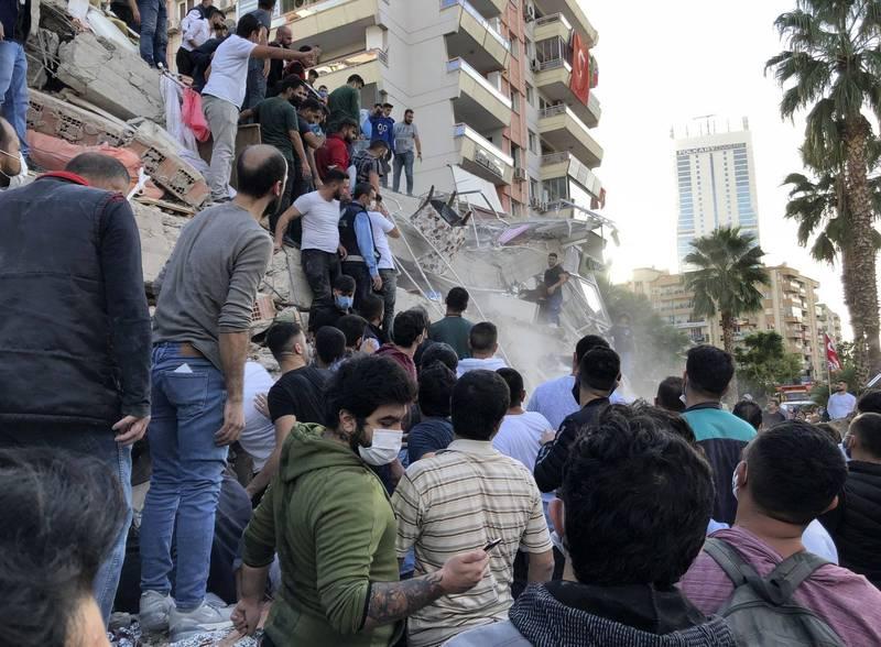 愛琴海地區驚傳強震,土耳其和希臘受衝擊。外交部表示目前旅土台僑均平安。(美聯社)