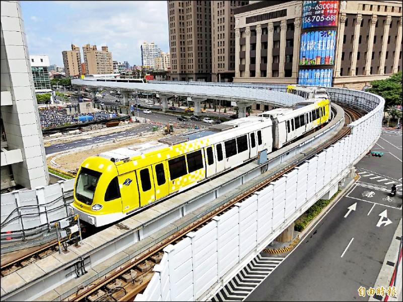 對於捷運環狀線經營權爭議,台北市長柯文哲提議,基隆捷運與捷運萬大線讓給新北市府經營,環狀線則給台北市。(資料照,記者賴筱桐攝)