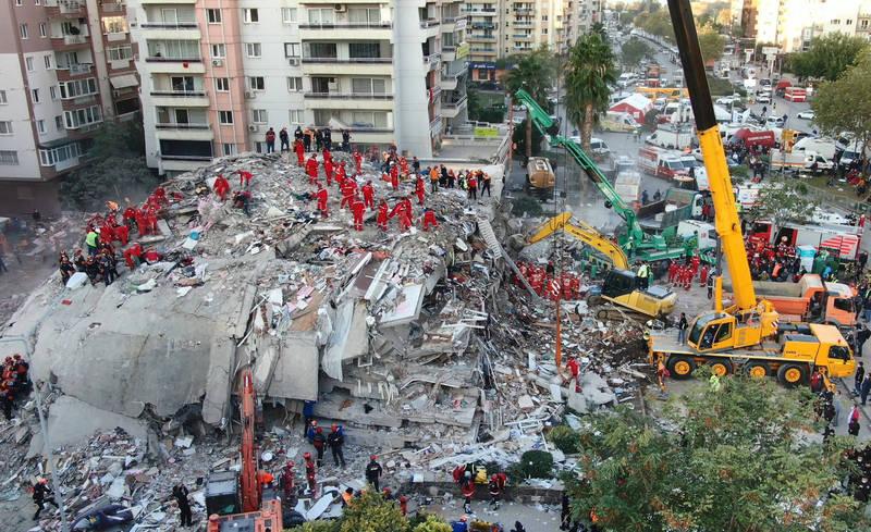 愛琴海規模7.0超強震 至少30死904人輕重傷