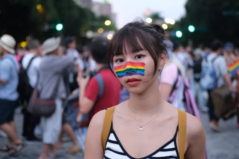 聲援同志大遊行 蔡英文為台灣驕傲:將持續做為亞洲人權燈塔