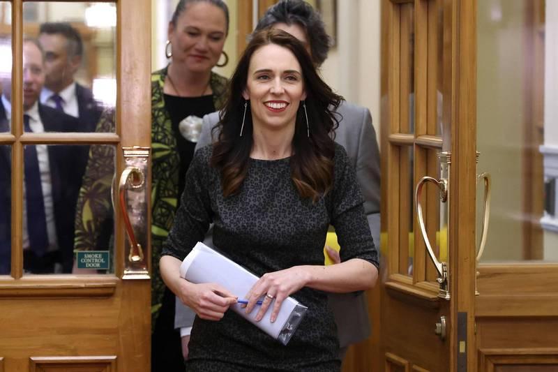 紐西蘭總理阿爾登今日公布新內閣人選。(法新社資料照)