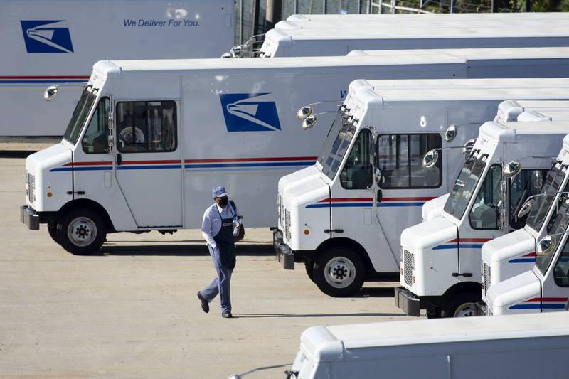 美國聯邦地區法院法官蘇利文1日簽署命令,要求美國郵政管理局須在投票時間截止前交付所有選票。(歐新社)