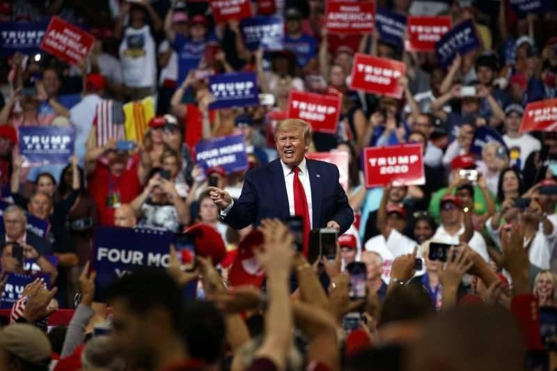 美國總統大選陸續開票,搖擺州恐再現「川普驚奇」?(美聯)