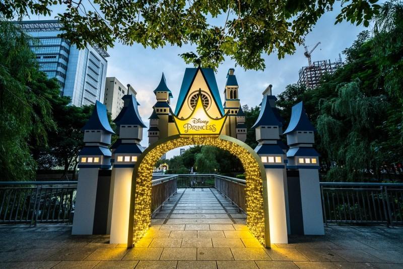 迪士尼公主的童話森林城堡。(圖由觀旅局提供)