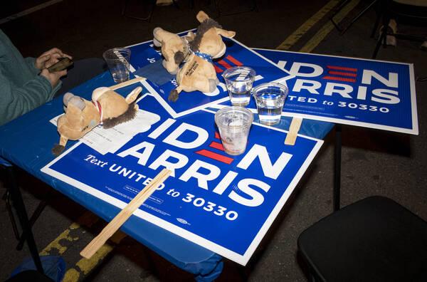 雖然美國大選尚未結束,但是彭博報導直指,「藍色浪潮」沒有來已是可確定之事。(彭博)