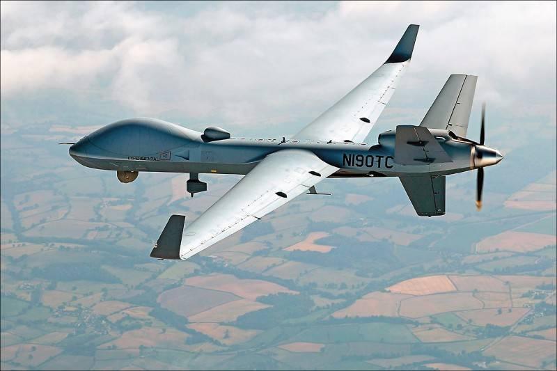 美方宣布對台出售4架「MQ-9B」海上衛士無人機。圖為美商通用原子航空系統公司(GA-ASI)產製的MQ-9機大型無人飛行載具。(資料照:取自GA-ASI官網)