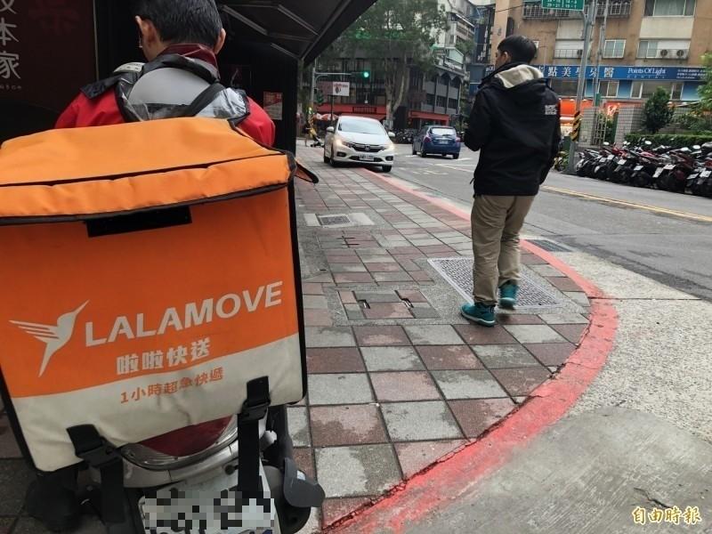 知名快遞平台Lalamove。(資料照)