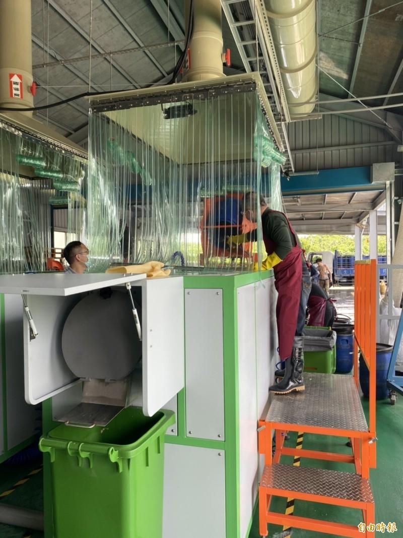[新聞] 竹市設全國首座科技高效廚餘設備 日處理1
