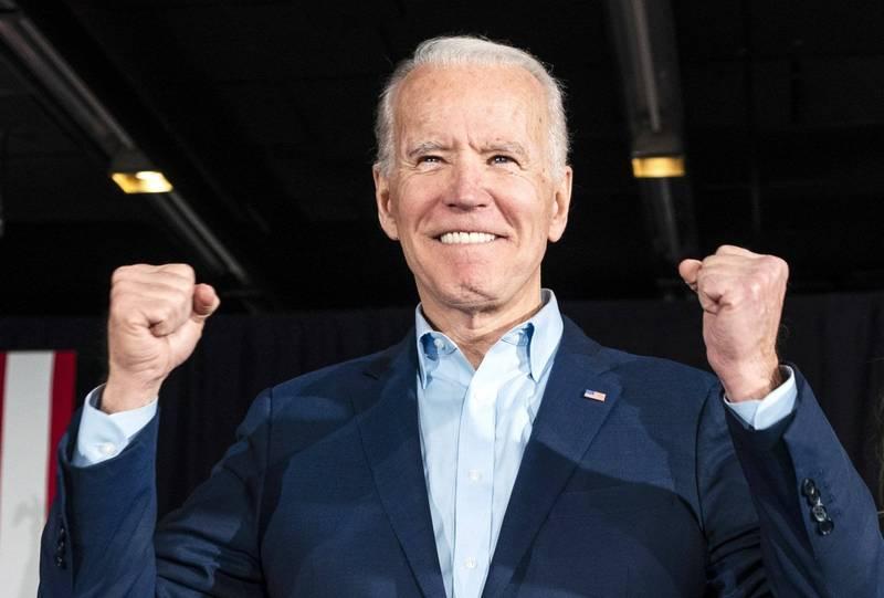 拜登確定拿下賓州的選舉人票數,突破門檻當選美國第46任總統。(歐新社)