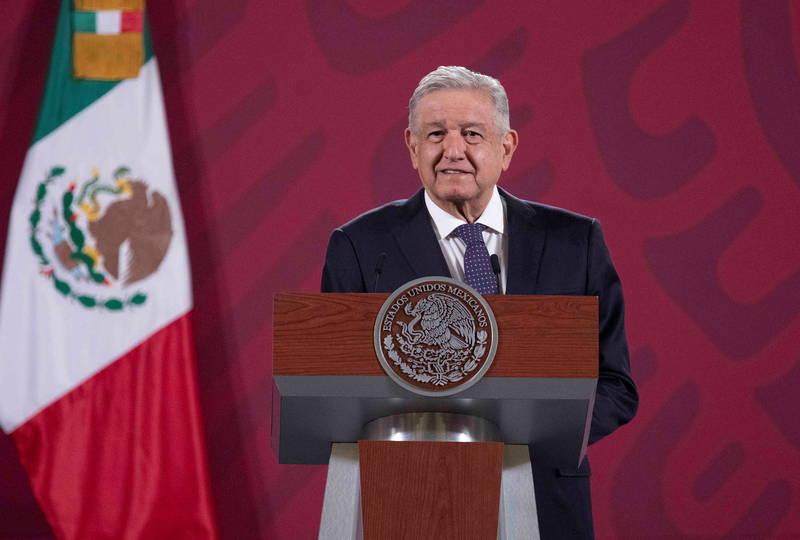 美媒宣布民主黨拜登贏得美國總統大選,各國政要紛紛獻上祝賀,墨西哥總統歐布拉多則表示,現在恭喜拜登還太早。(歐新社)