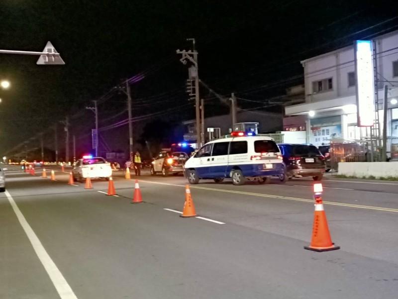 嘉義縣六美國小附近今傍晚發生死亡車禍。(讀者提供)