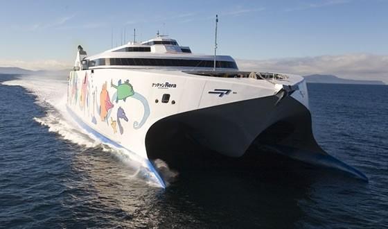 東聯航運規劃經營台南到澎湖往返的「麗娜輪」,20日將進行試營運。 (圖由李啟維提供)