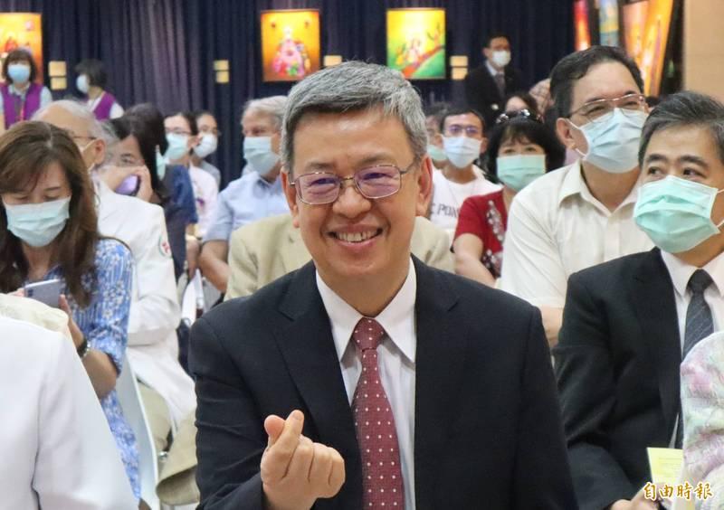 陳建仁驕傲談起國人自主配合防疫,並指出台灣迄今只有1100位人士觸犯居家檢疫規定,以比例而言,違反規定的人才只有0.5%。(資料照)