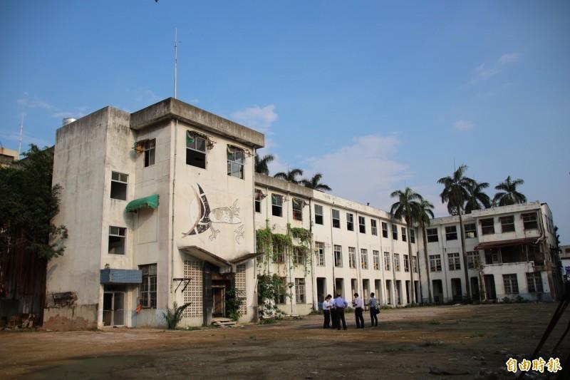 舊嘉義市公所。(資料照,記者丁偉杰攝)