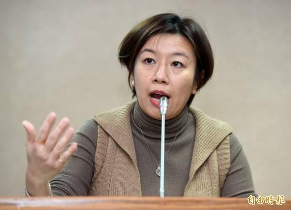 林靜儀(見圖)痛批,國民黨一直以來對人權都漠不關心,只有在特定時間才會出現,對台灣轉型正義根本是羞辱。(資料照)