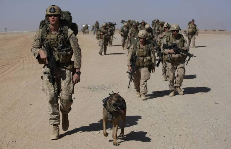 消息傳出美國海軍陸戰隊在台授課,美方國防部已對此回應。圖為美國海軍陸戰隊示意圖。(美聯社檔案照)