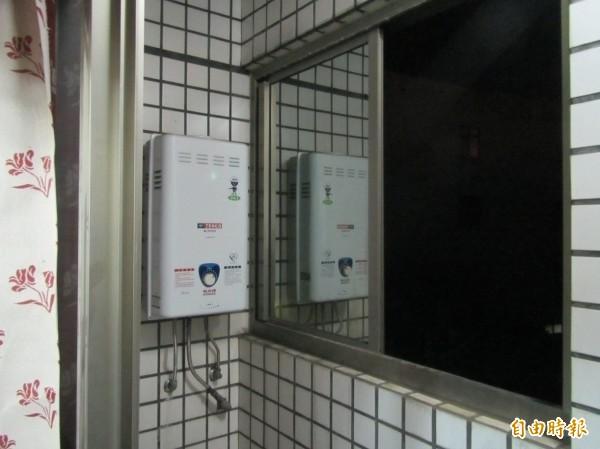 高雄沈姓房東把熱水器裝在陽台,但又把陽台封住,害2名房客一氧化碳中毒。示意圖 (資料照)