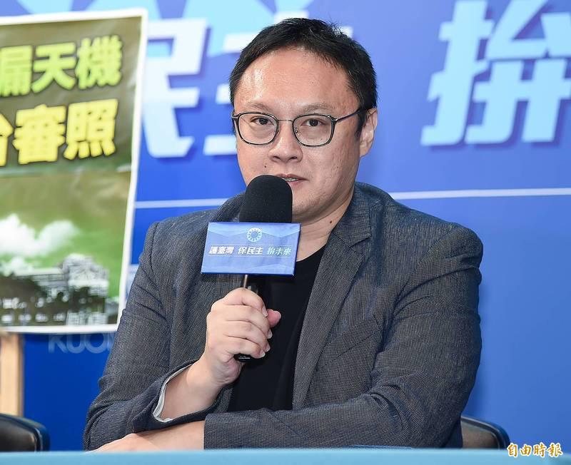 國民黨文傳會副主委鄭照新。(資料照)