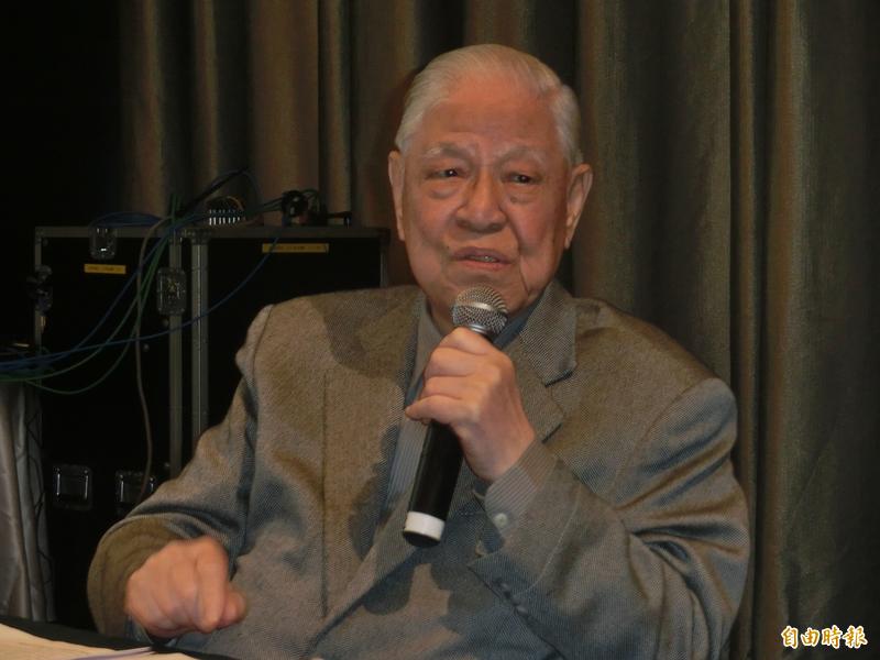 李登輝前總統於7月30日與世長辭,為傳承他留給台灣的歷史遺產,「台灣智庫」將舉辦「李登輝學」的系列活動。(資料照)
