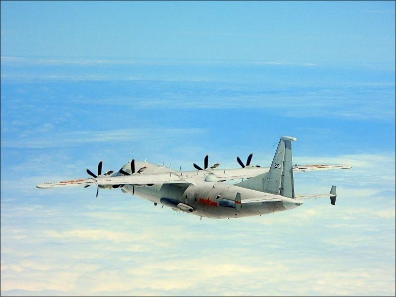 中國解放軍「運八」技術偵察機。(國防部官網)