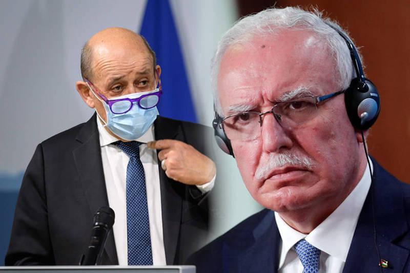 德法外長聯手呼籲美國總統當選人拜登重振歐美同盟關係,合作因應中國的挑戰。(法新社,本報合成)