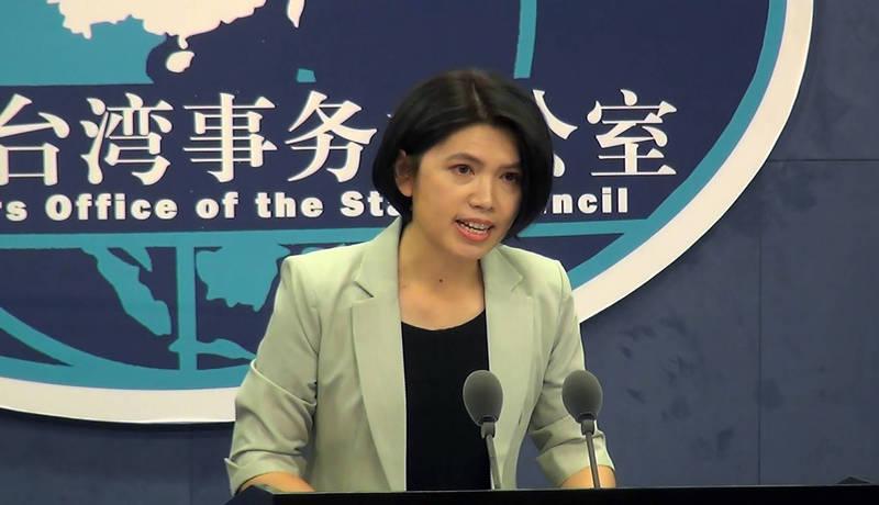 朱鳳蓮重申國台辦立場,稱台獨「是一條走不通的死路,只會給台灣同胞帶來災難。」(中央社檔案照)
